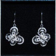 Orecchini Farfalline Pendenti/Earrings Butterfly