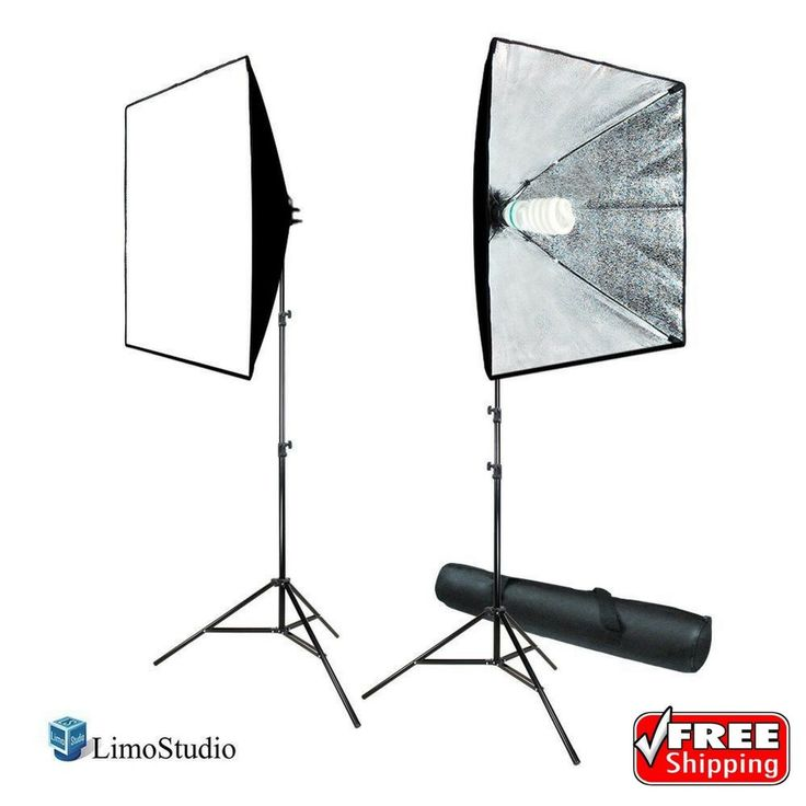 LimoStudio 700W Photography Softbox Lighting Kit Photo Equipment Light Softbox | Cameras & Photo, Lighting & Studio, Continuous Lighting | eBay!