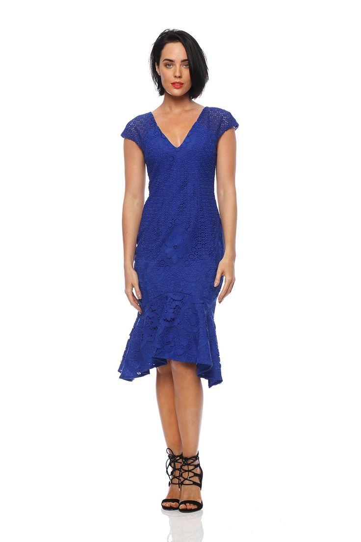 Pink Ruby - Amelie Flip Dress - Royal Blue - Pd175108