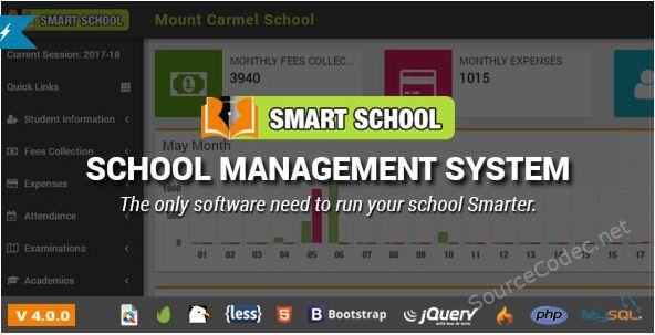 Smart School School Management System Php Script School Management Smart School College Management