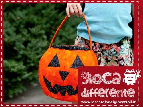 Sacchetto porta dolcetti per Halloween - La Scatola Dei Giocattoli