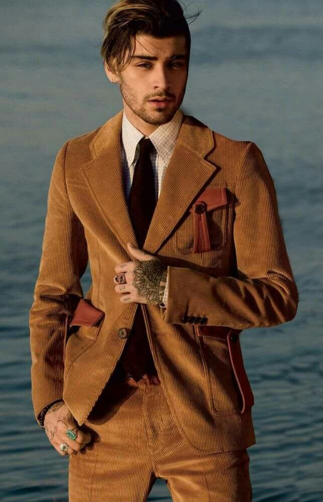 Zayn Malik for Vogue cover shoot