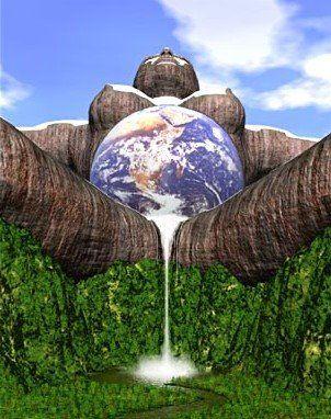 Pachamama, adoro essa imagem exprime perfeitamente a deusa terra