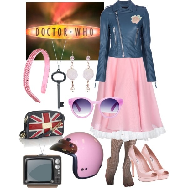 "[DOCTOR WHO] Rose Tyler outfits from the BBC's ""Doctor Who.""  Season 2, Episode 8: ""The Idiot's Lantern"" - Bri (b-scottyer on Polyvore)"