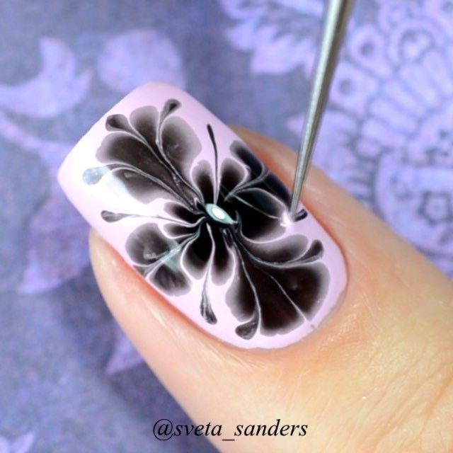 The 162 best marble nails images on Pinterest | Nail scissors, Nail ...