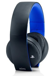 SCEE Sony Playstation Black Wireless Stereo Headset Wireless Stereo Headset 2.0 - PS4/PS3/VITAProduct DetailsThis new wireless headset for PS4 features stunning 7.1 virtual surround sound as well as a crystal clear noise-cancelling internal microphone  http://www.MightGet.com/february-2017-1/scee-sony-playstation-black-wireless-stereo-headset.asp