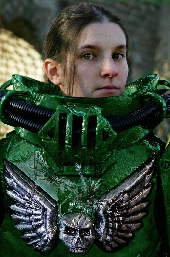how to make space marine scout armor