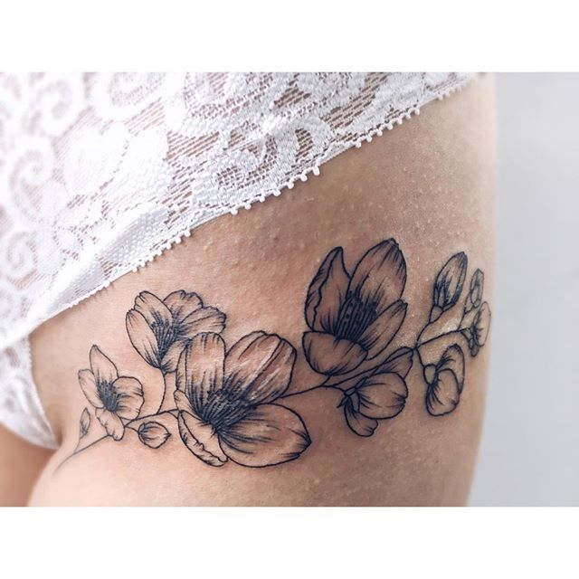 #jasmine gorgeous flower tattoo