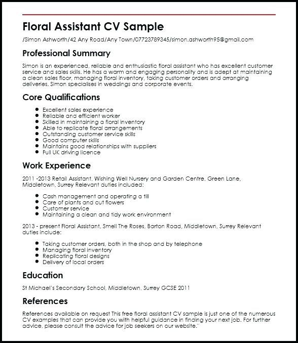 Image Result For Resume Examples With Images Retail Resume
