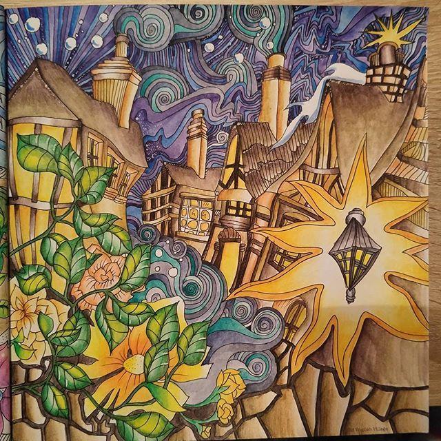 The Magical City Derwent Inktense