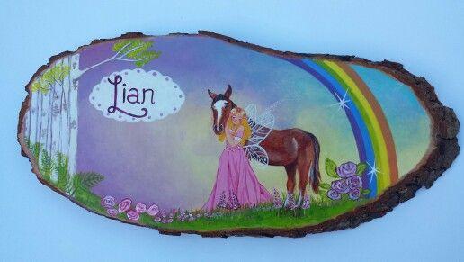 naamschilderij Lian