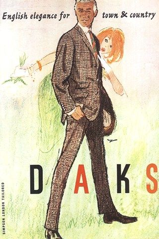 DAKS is a brand that understands and nurtures its heritage (