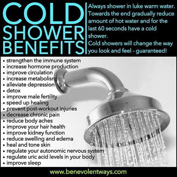 Thank you, cold-ass shower water in Guatemala for helping me to appreciate cool showers. Love knowing they come with all these added benefits!