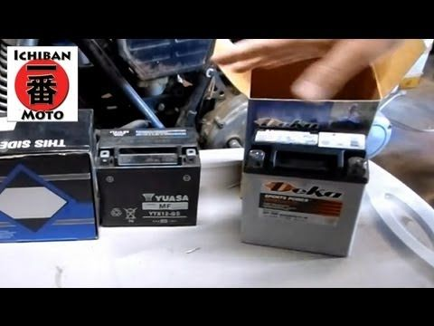 Look at this Batteries video we just blogged at http://motorcycles.classiccruiser.com/batteries/ichiban-cafe-racer-part-5-how-to-install-a-new-motorcycle-battery-and-disposal-of-old/