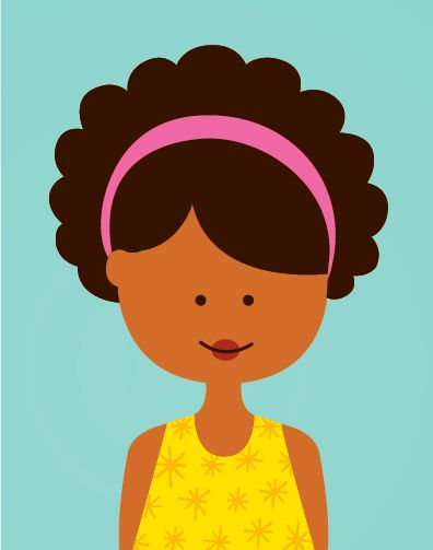Coily Girls - Andrea Pippins