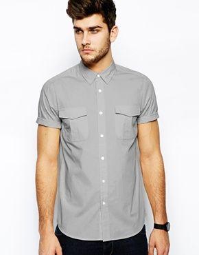 $13 asos military shirt