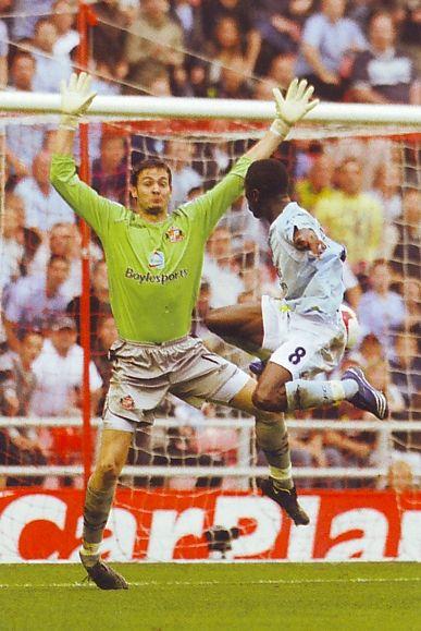 Sunderland 0 Man City 3 in Sept 2008 at the Stadium of Light. Shaun Wright-Phillips scores his 2nd goal to make it 3-0 #Prem