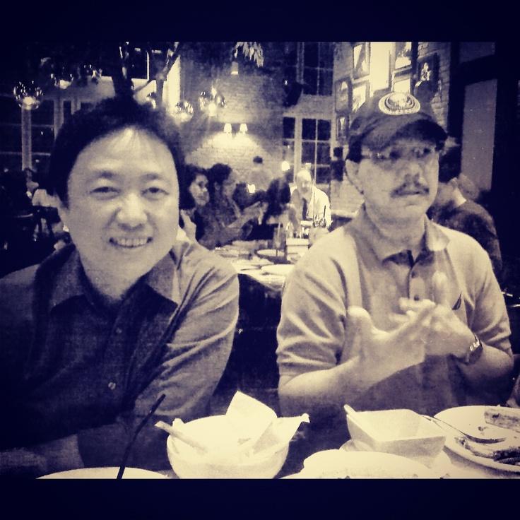 with Bang Andy at Luna Negra