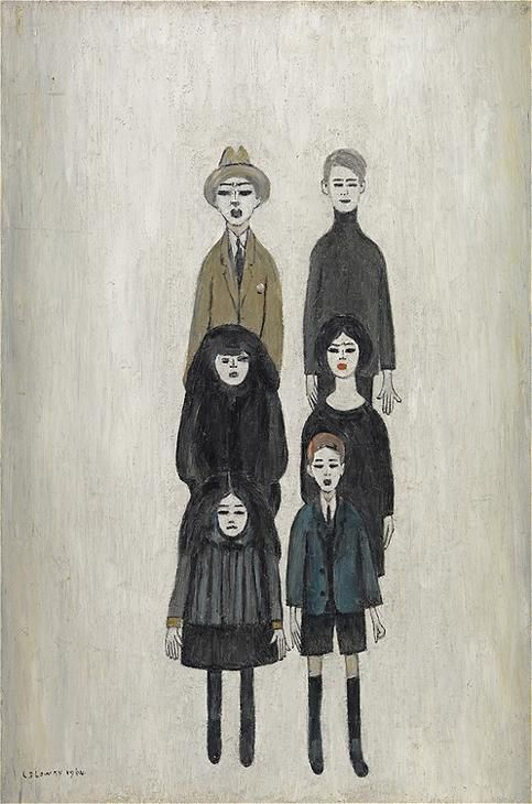 L.S. Lowry (early 1900s)