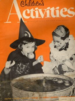 vintage halloween magazine childrens activities october - Halloween Magazines