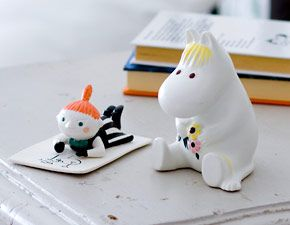 Niiskuneiti ja Pikku Myy, characters from Moomins