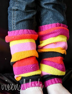 legwarmers, my 80s style! They're back lol!