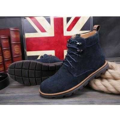 https://www.i-sabuy.com/ รองเท้าบูท leather boots tide men's boots men's high-top boots tooling boots ผู้ชายเกาหลี