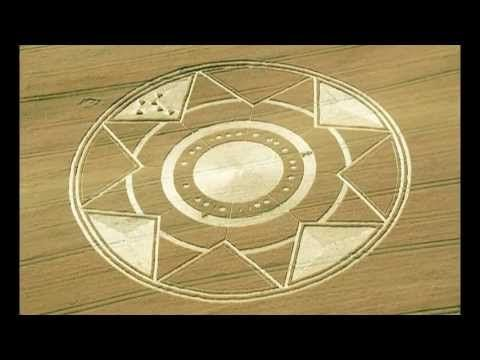 Looks like some sort of clock/time-based message.  2013 Crop circles - Cavallo Grigio, Robella, Province of Asti, Italy - 3...