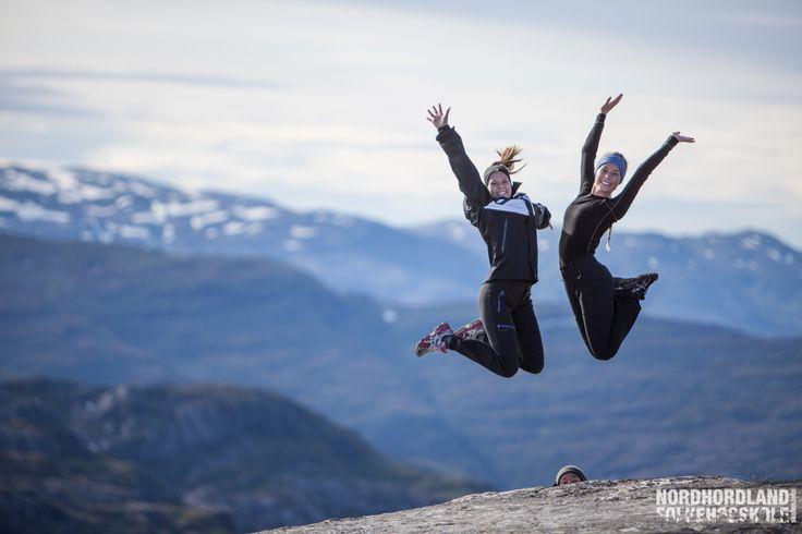 Nordhordland Folkehøgskole,  Bergsdalen, Gullhorgabu, exercise