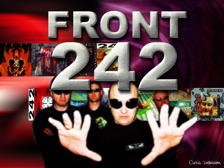 Front 242 is a pioneering Belgian electronic music group that came into prominence during the 1980s. They are known for being the premier pioneer of electronic body music and as a major influence on the electronic and industrial music genres.