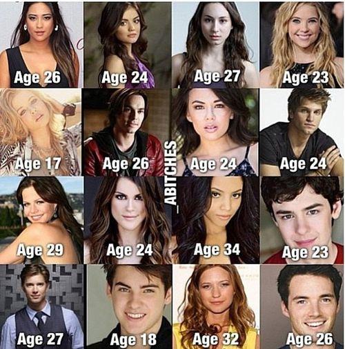 Pretty little liars cast members dating