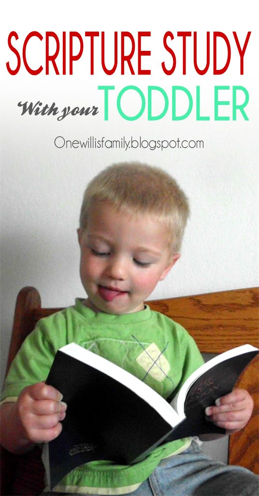 Holding Scripture Study with your Toddler #LDS#scripturestudy#toddler
