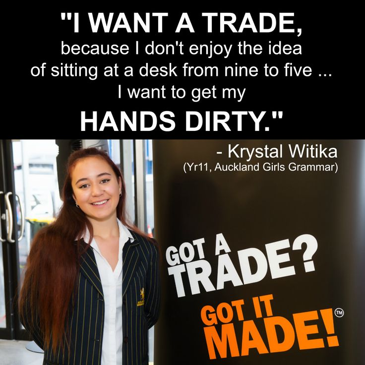 #GotATradeWeek 2015 was officially opened this morning by Krystal Witika – (Yr 11 student, #AucklandGirlsGrammar).