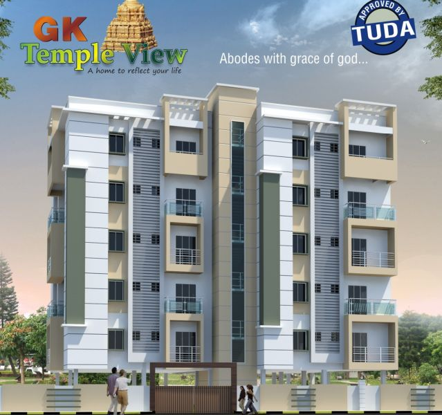GK Shelters presents GK Temple view