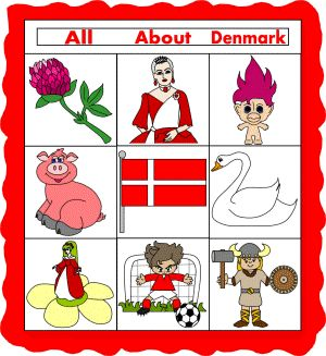 """Denmark Paper Quilt - We did this for our class study on Denmark. The kids made extra """"quilt pieces"""" to add to the quilt before we hung it on the wall!"""
