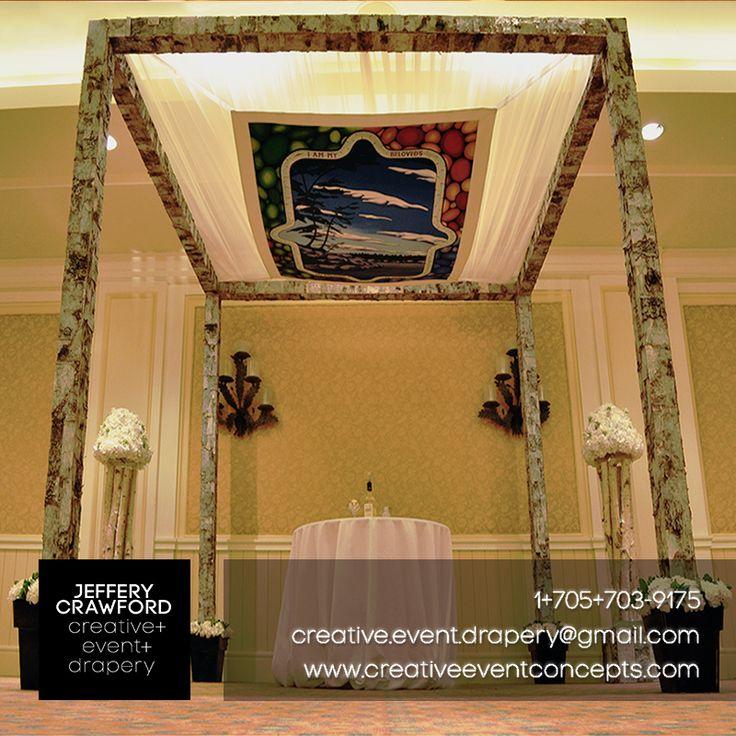 Chuppahs & Mehitzas Jeffery Crawford #Creative #Event #Drapery   creative.event.drapery@gmail.com   www.creativeeventconcepts.com #Muskoka #Toronto #EventDrape #EventDrapery #TentDraping #CeilingDraping #Backdrops #WeddingBackdrops #Chuppahs #ChairCovers #Lighting #AisleRunners #EventCarpet #Design #Decor #Wedding #Weddings #SpecialEvents #Events #MuskokaWedding #TorontoWedding #MuskokaWeddings #TorontoWeddings #WeddingProfs #EventProfs