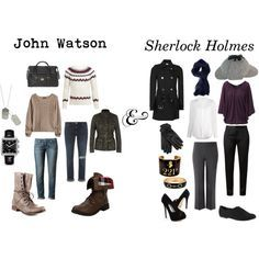 """Sherlock and Watson"" by elliequestrienne on Polyvore"