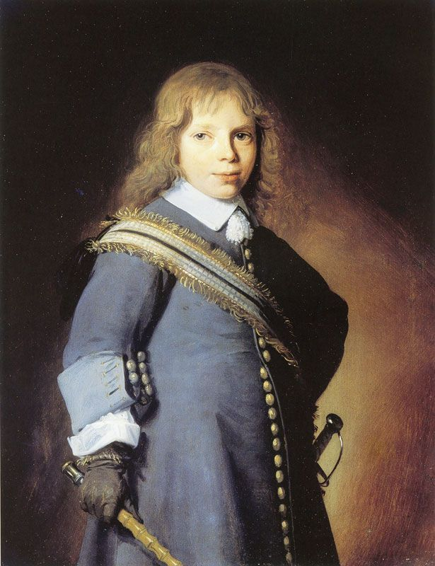Johannes Verspronck, Boy, c.1650-54 - Private Collection