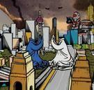 Bu Hua, 'Savage Growth', 2008, flash digital animation (still)