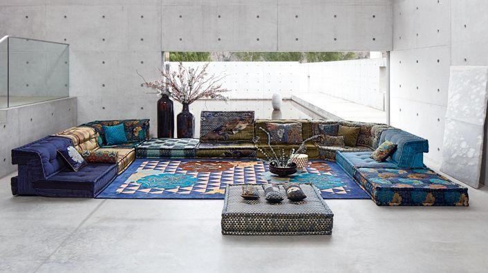 Le Mah Jong Roche Bobois Missoni Home Furniture Sofa Design