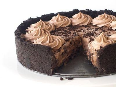 Chocolate Oreo Ice-Cream Pie recipe