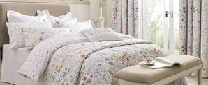 Dorma Wildflower Digitally Printed 100% Cotton Duvet Cover | Dunelm