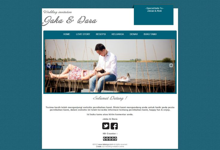 Standart-Tosca-Pro, desain undangan online Pro versi murah dari Datangya.com