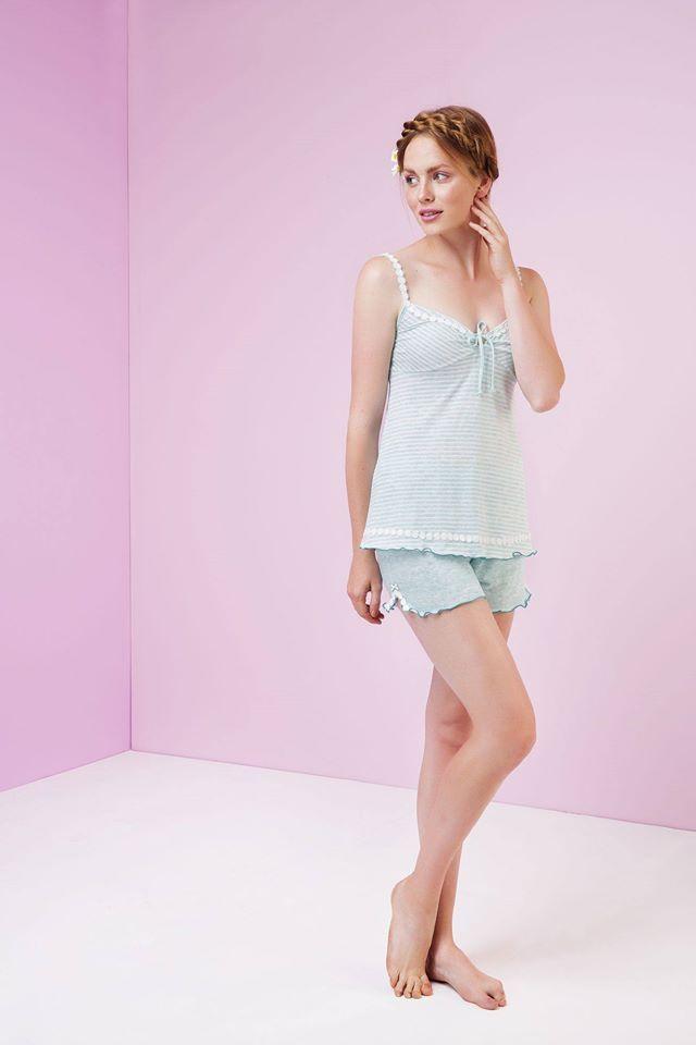 Θηλυκή και σικ! Βρείτε αυτό το φανταστικό και sexy πιζαμάκι από την καλοκαιρινή μας συλλογή https://shop.vamp.gr/gynaikeia/pytzames #vamp #pyjama #baby_blue