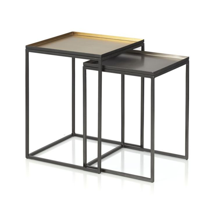 Ami Nesting Tables Set Of 2 | Crate And Barrel