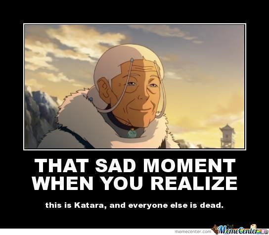 legend of Korra... so sad when this realization hits you.
