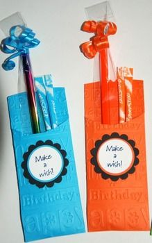 BIRTHDAY PENCIL POCKETS (SET OF 24) - TeachersPayTeachers.com