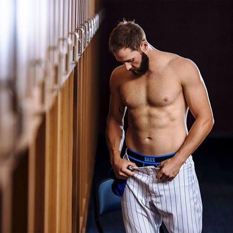 Jake Arrieta - Underwear Model for Saxx
