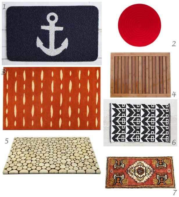Doormats With Loads of Style: A Case of the Wants (http://blog.hgtv.com/design/2014/03/06/doormat-with-style/?soc=pinterest): Entrance Hall Mudroom, Personal Style, Personalized Style