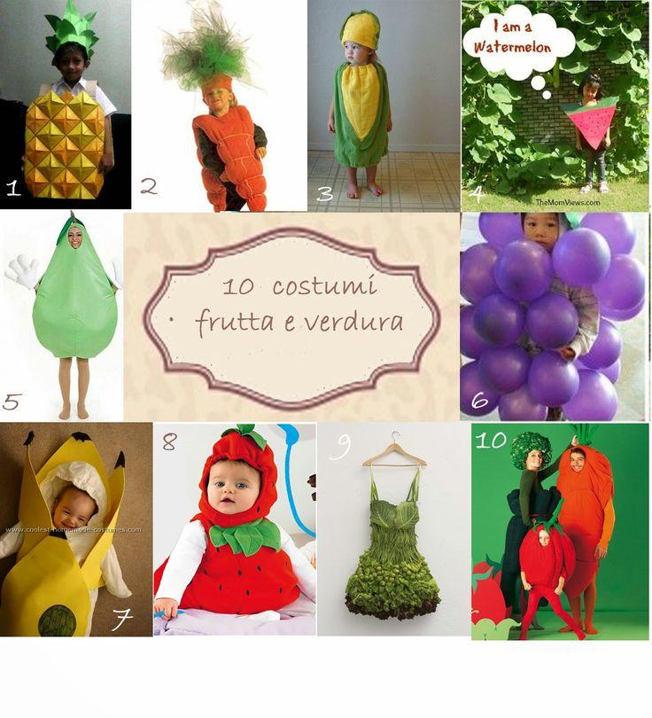 Sono al Mondo: 10 Costumi da Carnevale da Frutta e Verdura
